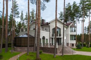 «Оптима — Синергидом». Дома из кирпича и газобетона на выставке «Строим загородный дом»
